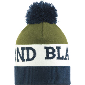 Black Diamond Tom Pom Beanie captain-white-burnt olive